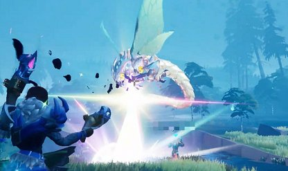 Shoots Ranged Lasers Attacks On Slayers