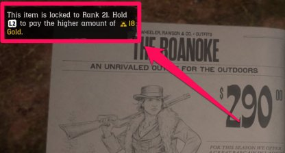 Red Dead Online Gold Bar Currency