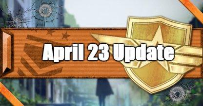 April 23 Update