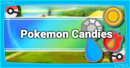 Pokemon Candies