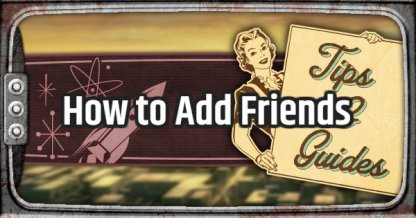 Fallout 76 How to Add Friends and Join Team