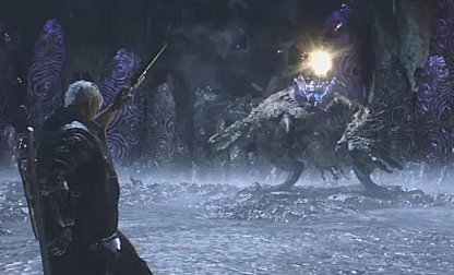 Devil May Cry 5 Use Blue Rose To Deal Long-Range Damage