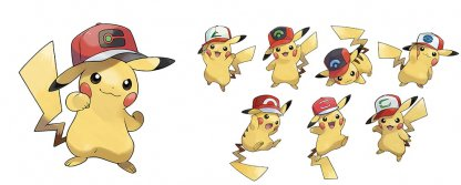 Pikachu hat types