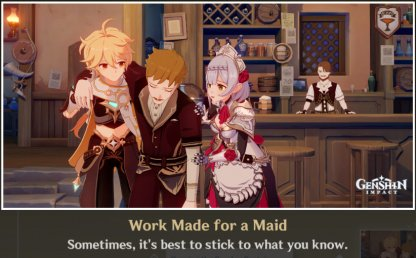 Ending 6: Work Made For A Maid