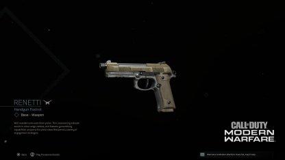 Renetti New Weapon