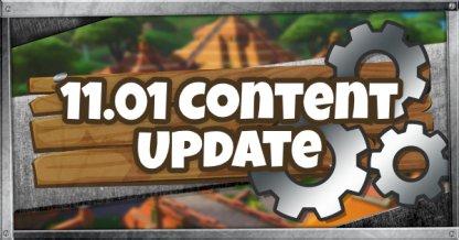 11.01 Content Update