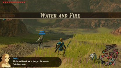 Water And Fire - Level & Characters