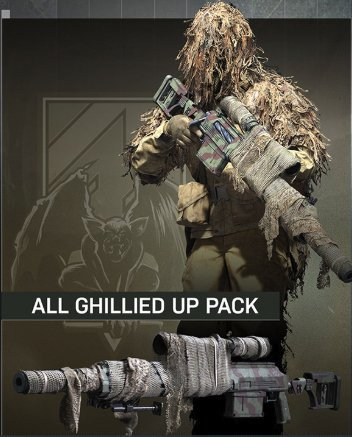 All Ghillied Up Operator Pack