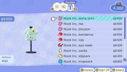 Use Nook Miles To Purchase Exclusive Items