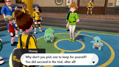 Choose Squirtle Or Bulbasaur