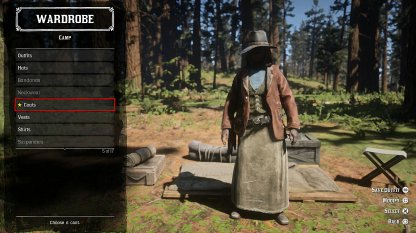 Red Dead Online Difference Between Camps