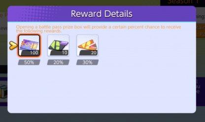 Battle Pass Chest Rewards