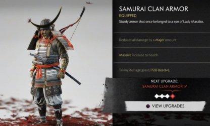 Samurai Clan Armor