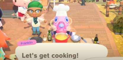 Give Ingredients To Franklin
