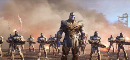 Villains Side - Thanos & the Chitauri