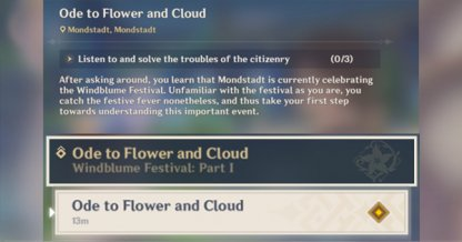 Ode To Flower And Cloud