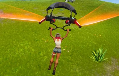 Fortnite Glider Re-Deploy Mechanic Test