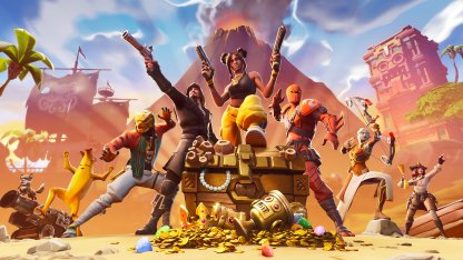 Fortnite Season 8 Key Visual Art