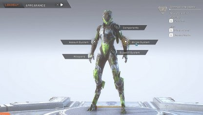 Anthem Customize Loadout To Change Weapons, Parts, & Gear