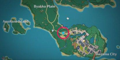 Midori Map Location