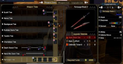 Rampage Weapon
