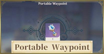 Portable Waypoint