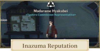 Inazuma City Reputation