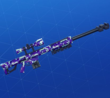 EMOTE CAMO Wrap - Sniper Rifle