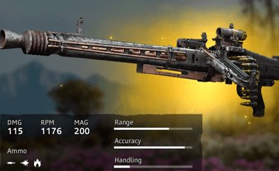Far Cry New Dawn Blunderbuss MG42