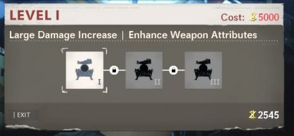 Increase Weapon Attributes