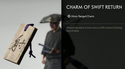 Receive Charm Of Swift Return