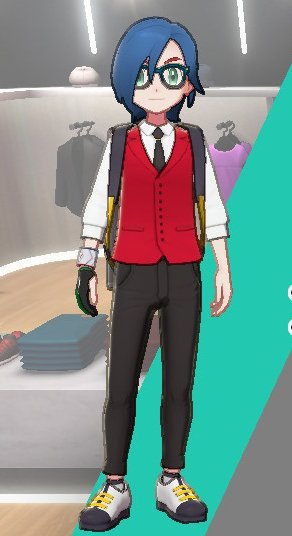 Vest And Tie Ensemble (Red)