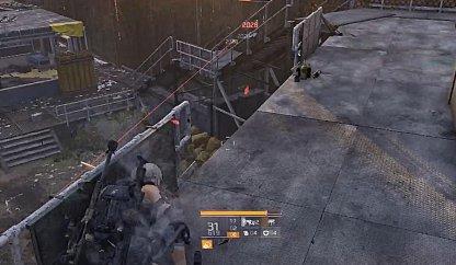 Keep an Eye on Enemies Climbing Stair to You