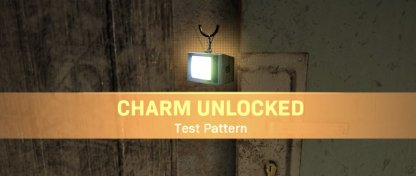 Test Pattern Charm Unlocked