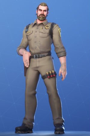 Skin Outfit CHIEF HOPPER
