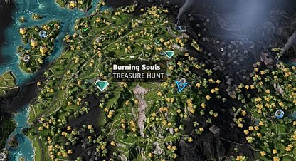 Burning Souls - Map Location