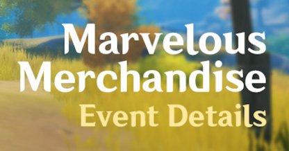 Marvelous Merchandise Event