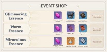 Event Shop