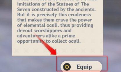 Equip Geoculus Resonance Stone
