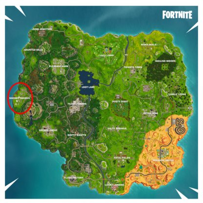 Snobby Shores ATK Locations
