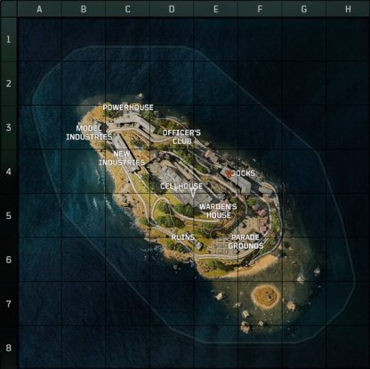 Learning The Alcatraz Blackout Map