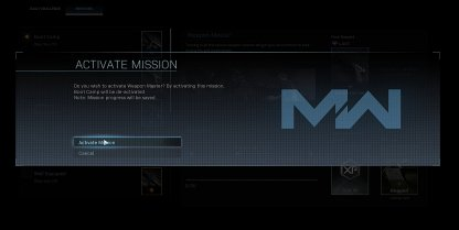 Can Only Have 1 Active Mission at a Time