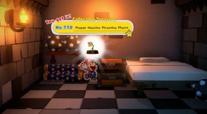 Paper Macho Piranha Plant