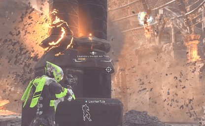 Hide Behind Cover to Escape Homing Fire Balls