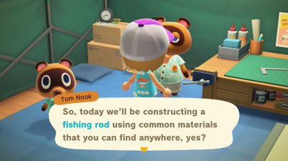 Complete DIY Workshop With Tom Nook