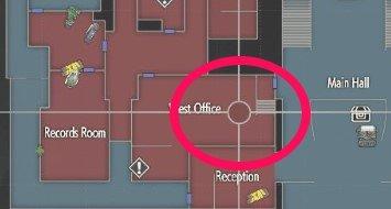 Locker - Police Station 1F: Desk In West Office