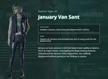 January Van Sant