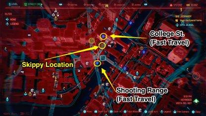 Skippy Map