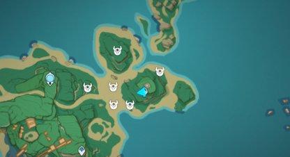 Treasure Area 9 - Iron Coin Locations