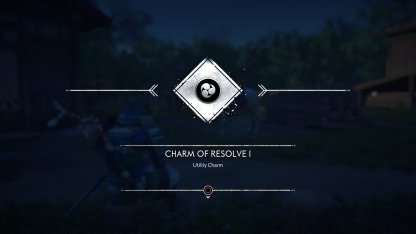 Receive Charm Of Resolve I